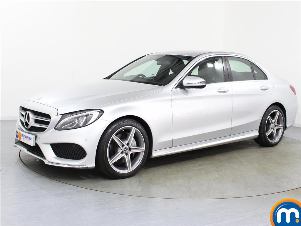 Mercedes-Benz C Class AMG Line - Stock Number (1024247) - Passenger side front corner
