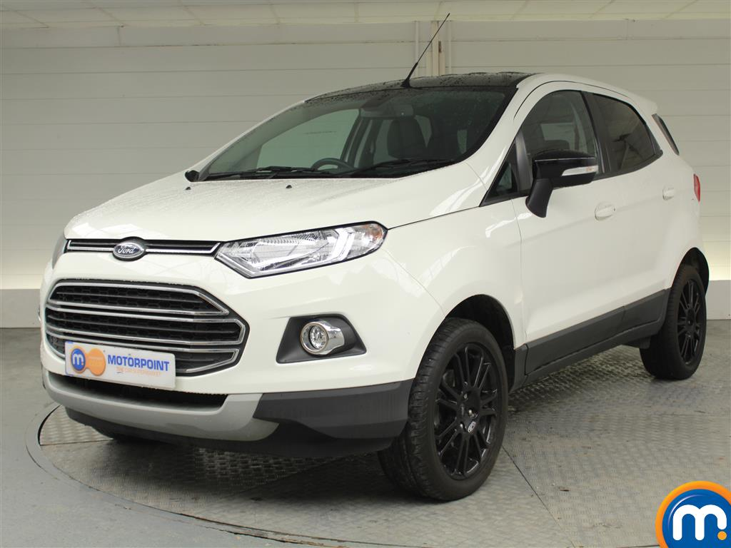 Ford Ecosport Titanium S - Stock Number (1018327) - Passenger side front corner