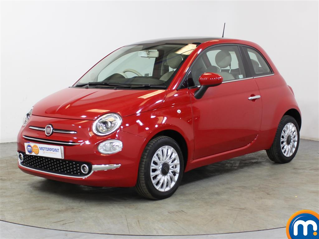 Fiat 500 Lounge - Stock Number (1020541) - Passenger side front corner