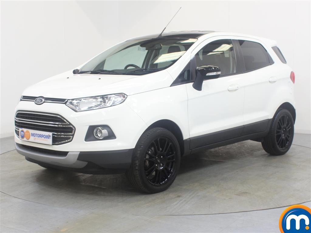 Ford Ecosport Titanium S - Stock Number (1032509) - Passenger side front corner