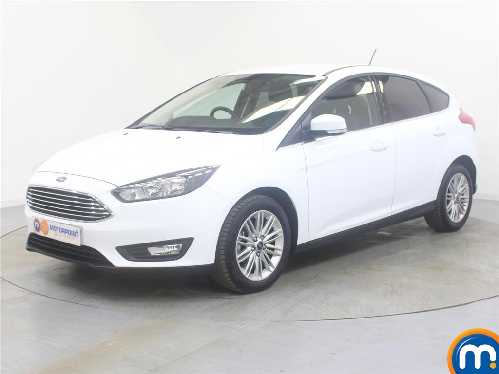 Ford Focus Zetec Edition - Stock Number (1029145) - Passenger side front corner