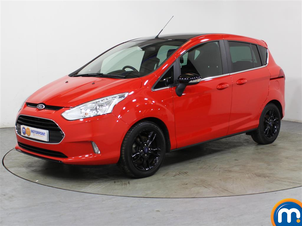 Ford B-Max Zetec Red Edition - Stock Number (1014290) - Passenger side front corner