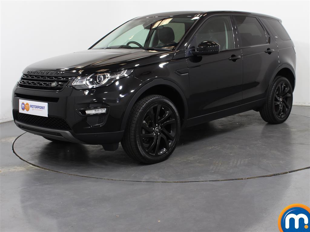 Land Rover Discovery Sport HSE Black - Stock Number (1027393) - Passenger side front corner