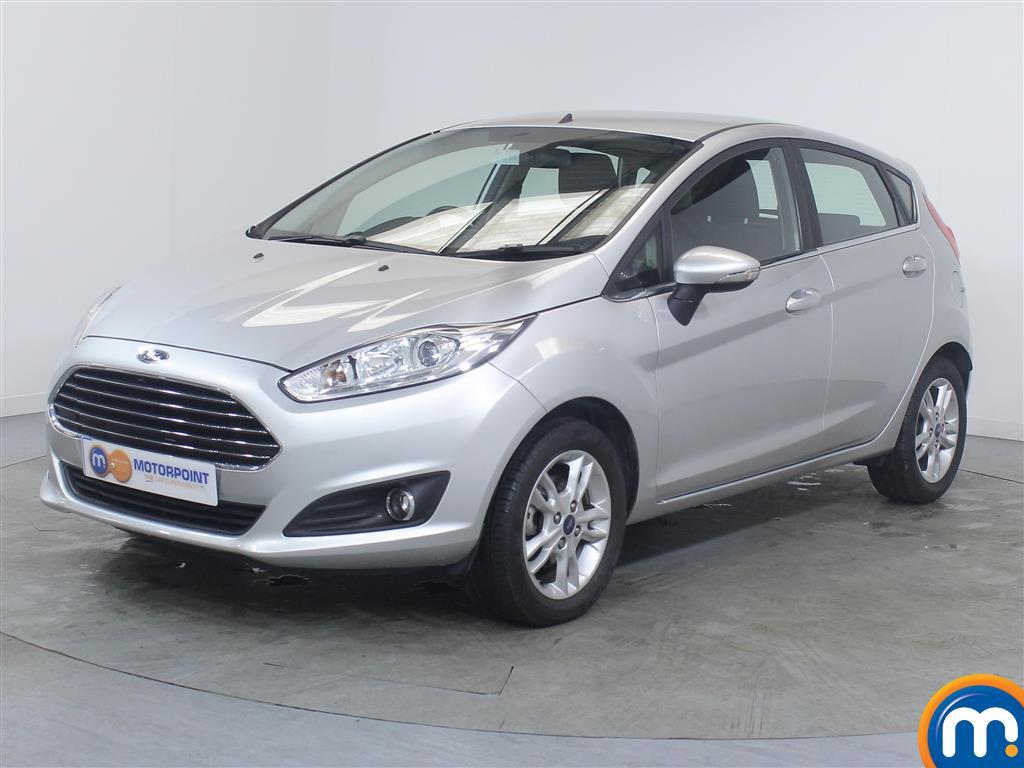 Ford Fiesta Zetec - Stock Number (1030930) - Passenger side front corner