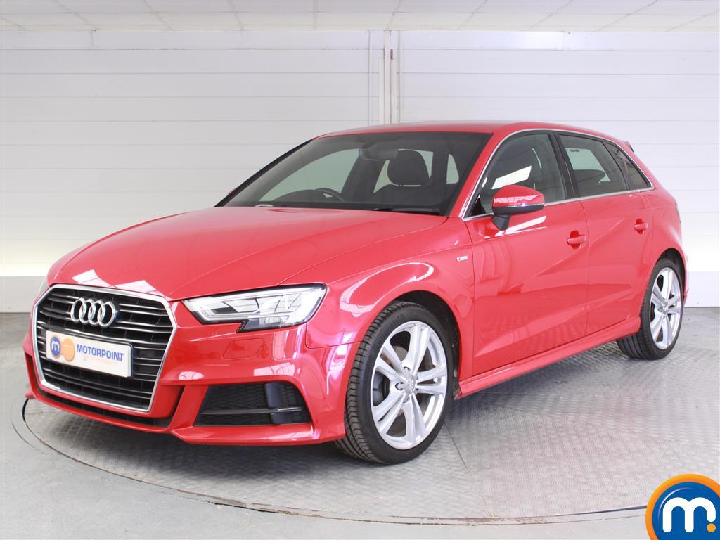 Audi A3 S Line - Stock Number (1010856) - Passenger side front corner