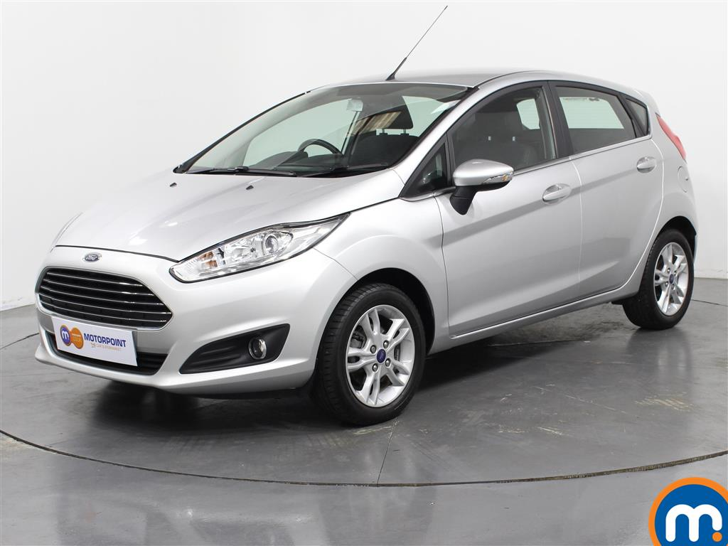 Ford Fiesta Zetec - Stock Number 1025993 Passenger side front corner