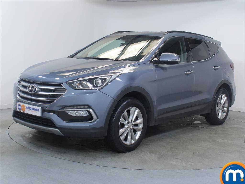 Hyundai Santa Fe Premium - Stock Number (1030264) - Passenger side front corner