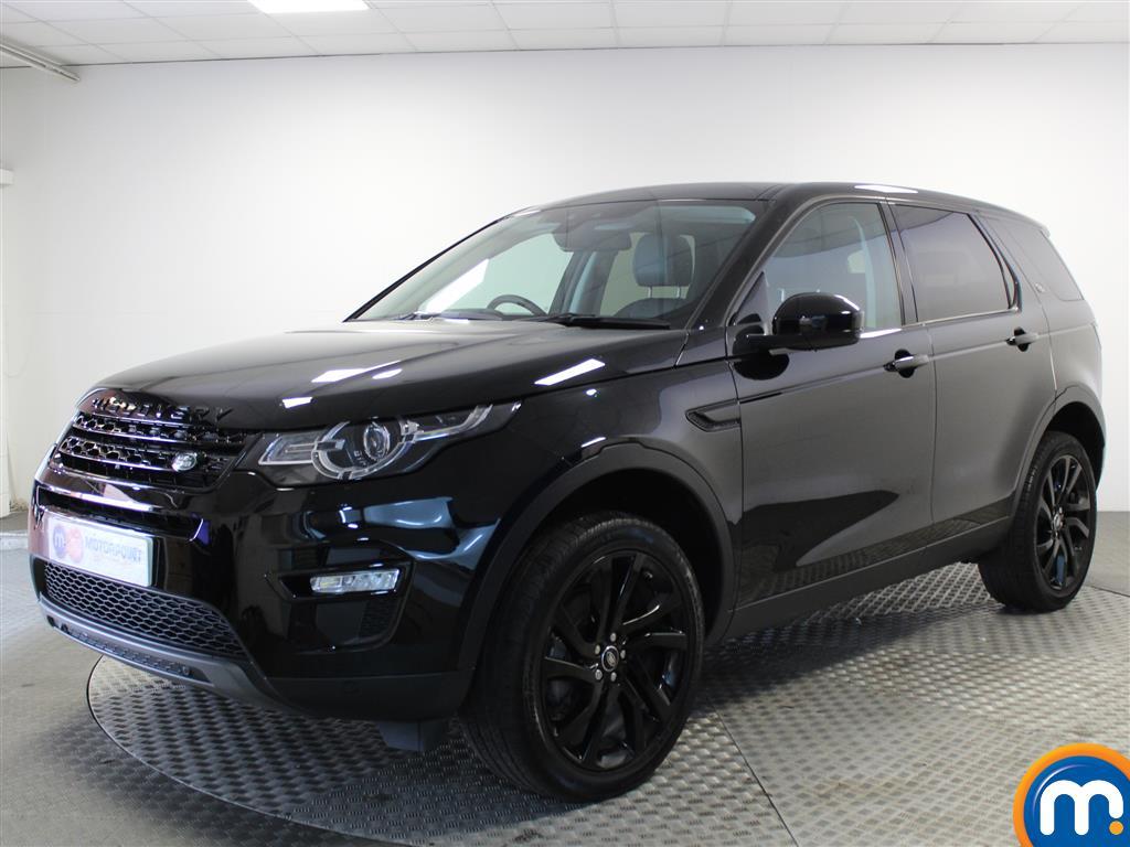 Land Rover Discovery Sport HSE Black - Stock Number (1015082) - Passenger side front corner