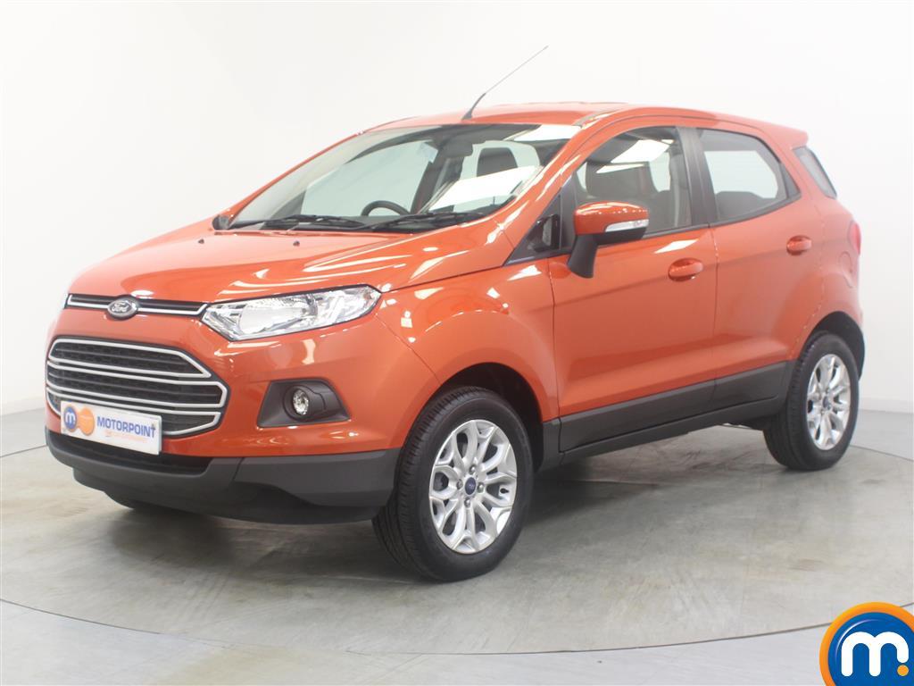 Ford Ecosport Zetec - Stock Number (1027647) - Passenger side front corner