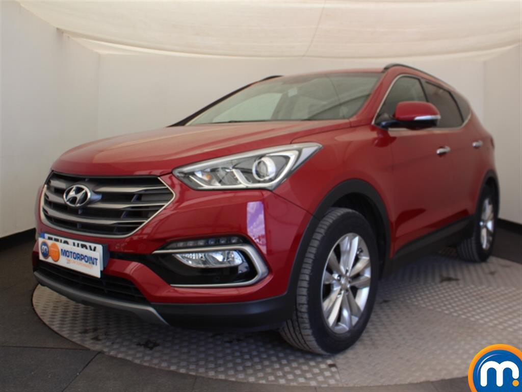 Hyundai Santa Fe Premium - Stock Number (1030217) - Passenger side front corner