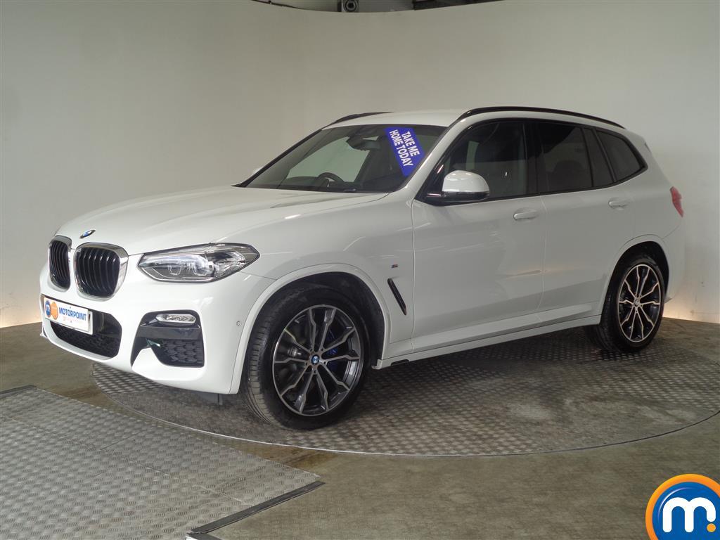 BMW X3 M Sport - Stock Number (1027873) - Passenger side front corner