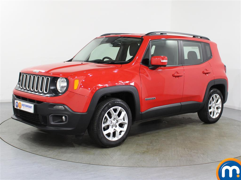Jeep Renegade Longitude - Stock Number (1024599) - Passenger side front corner