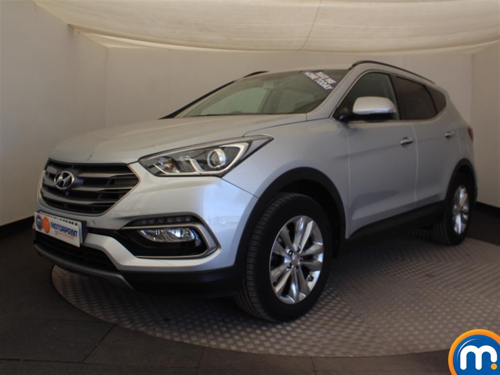Hyundai Santa Fe Premium - Stock Number (1030214) - Passenger side front corner