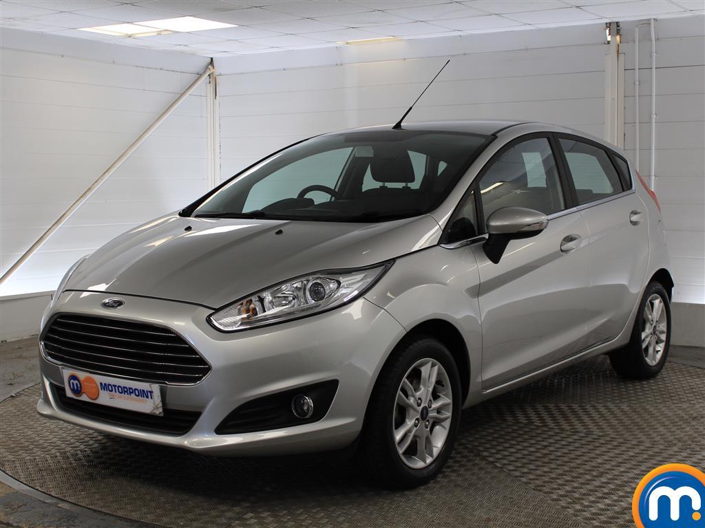 Ford Fiesta Zetec - Stock Number (1032263) - Passenger side front corner