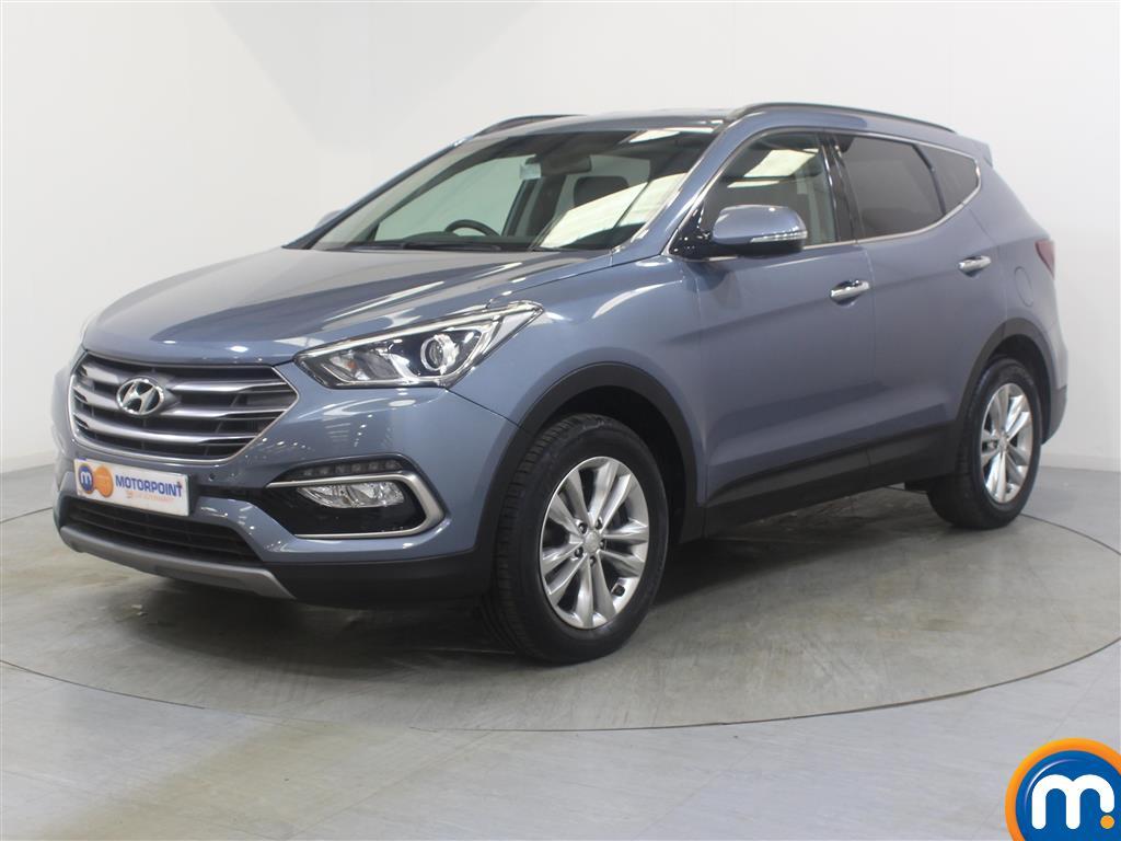 Hyundai Santa Fe Premium - Stock Number (1030263) - Passenger side front corner