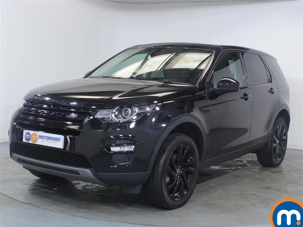 Land Rover Discovery Sport HSE Black - Stock Number 1022766 Passenger side front corner