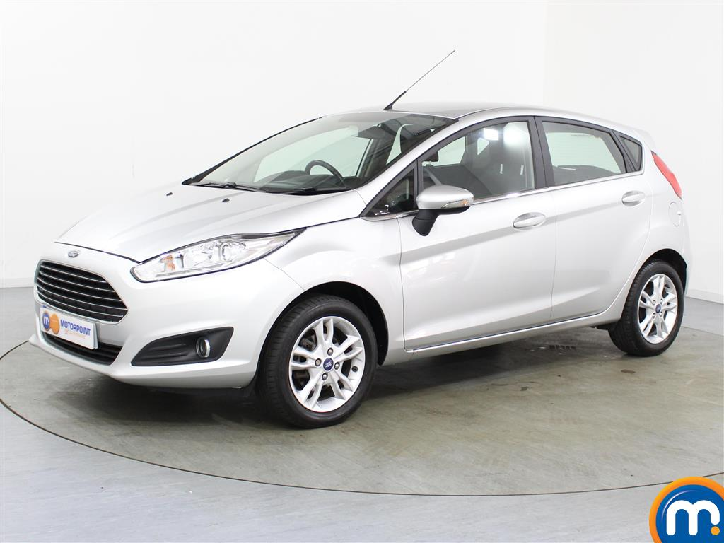 Ford Fiesta Zetec - Stock Number (1028511) - Passenger side front corner