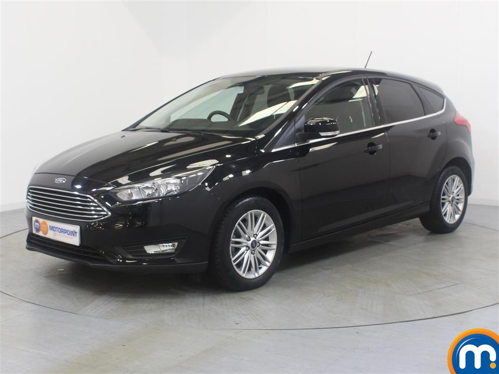 Ford Focus Zetec Edition - Stock Number (1031026) - Passenger side front corner