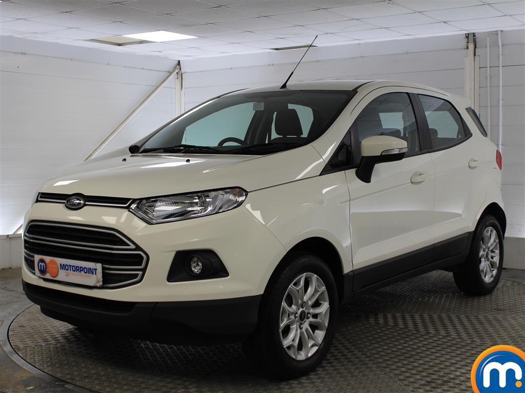 Ford Ecosport Zetec - Stock Number (1034653) - Passenger side front corner