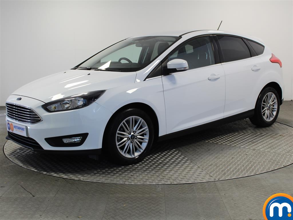 Ford Focus Zetec Edition - Stock Number 1030397 Passenger side front corner