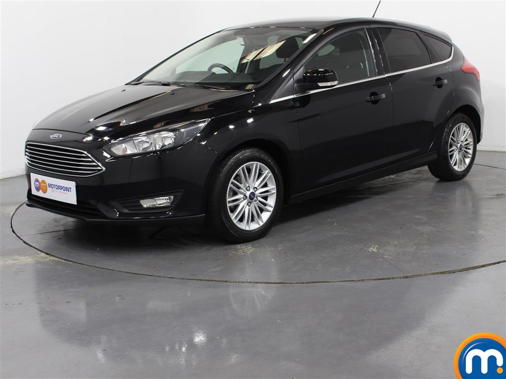 Ford Focus Zetec Edition - Stock Number (1028106) - Passenger side front corner