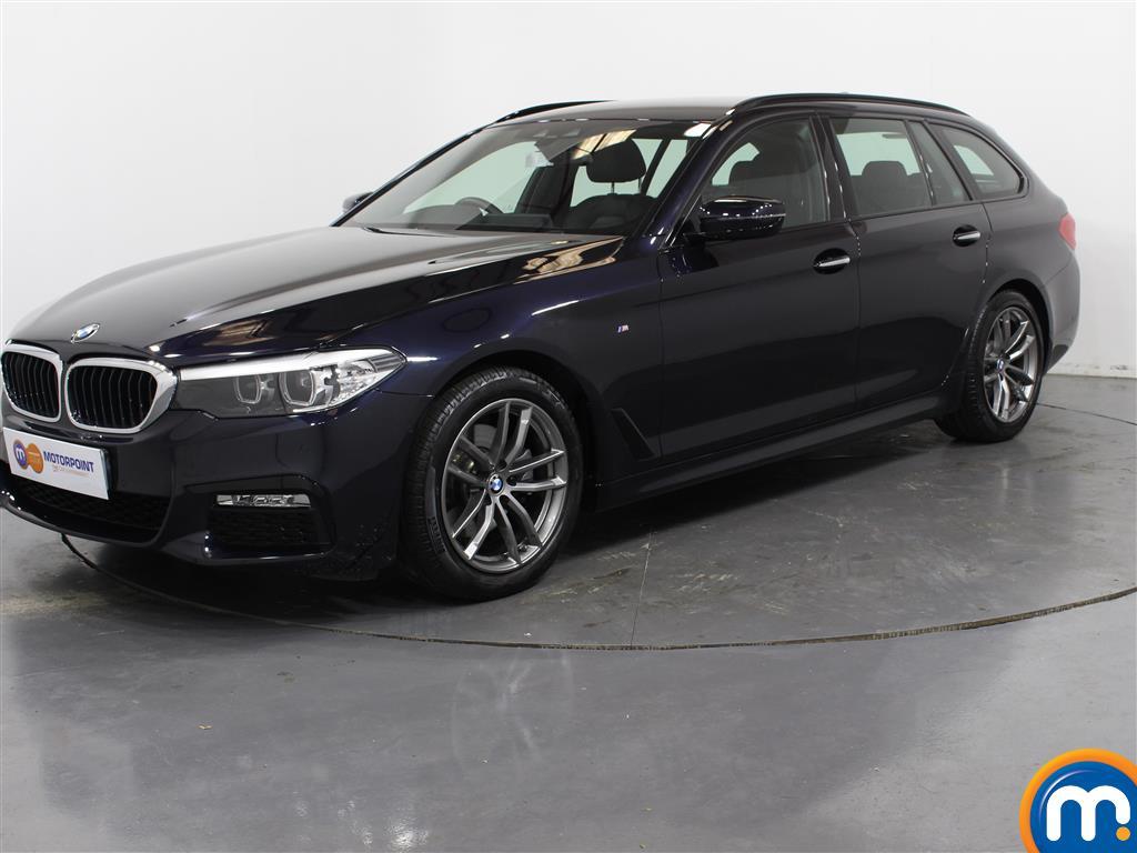 BMW 5 Series M Sport - Stock Number 1030955 Passenger side front corner