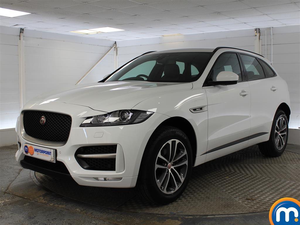 Jaguar F-Pace R-Sport - Stock Number (1034559) - Passenger side front corner