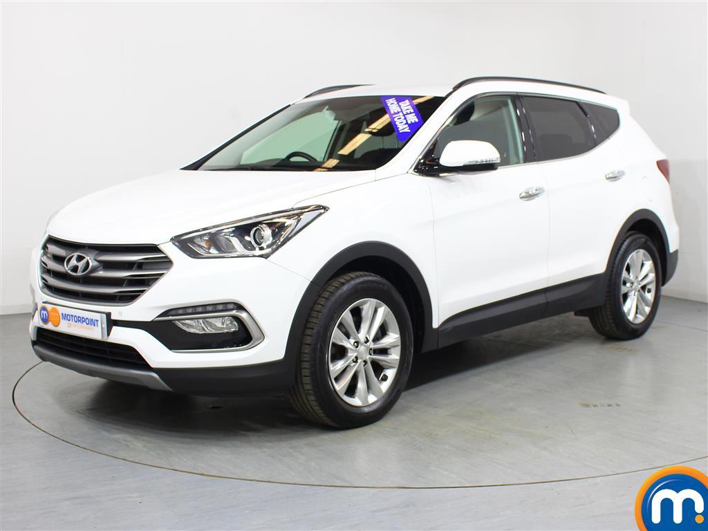 Hyundai Santa Fe Premium - Stock Number (1027962) - Passenger side front corner