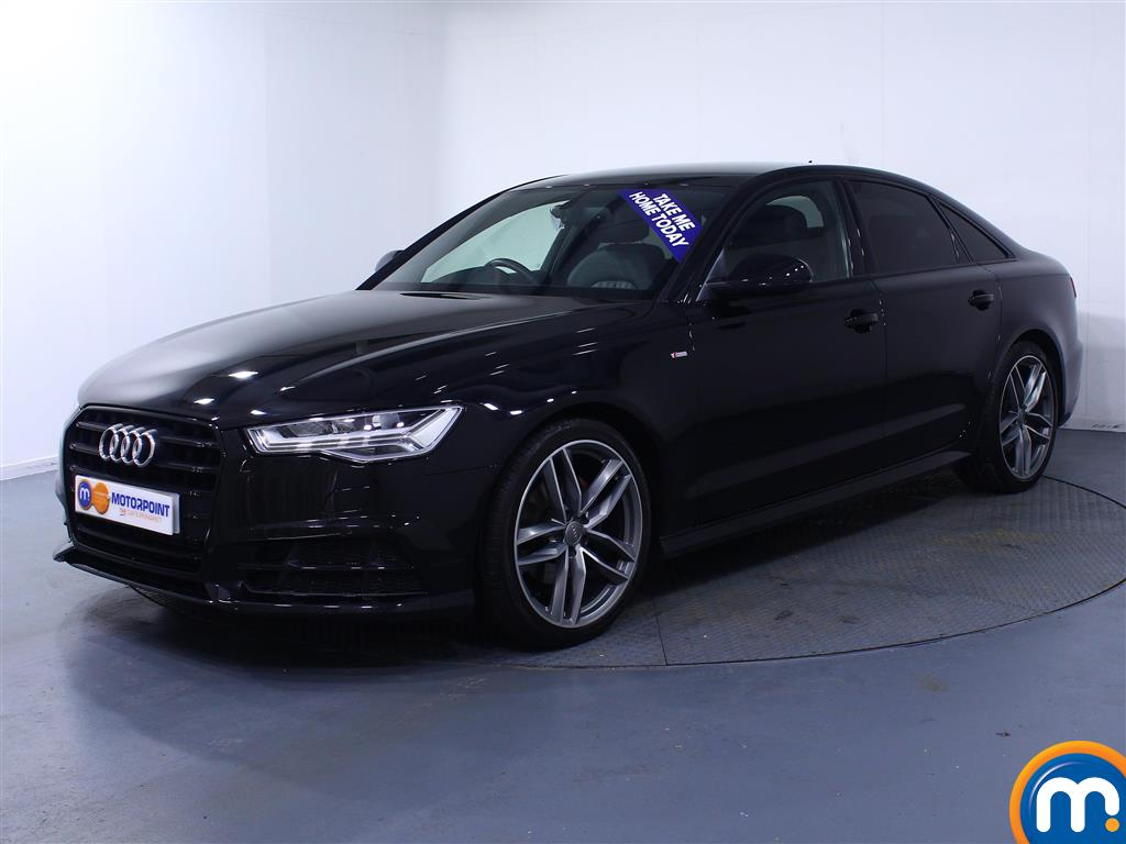 Audi A6 Black Edition - Stock Number (1032847) - Passenger side front corner