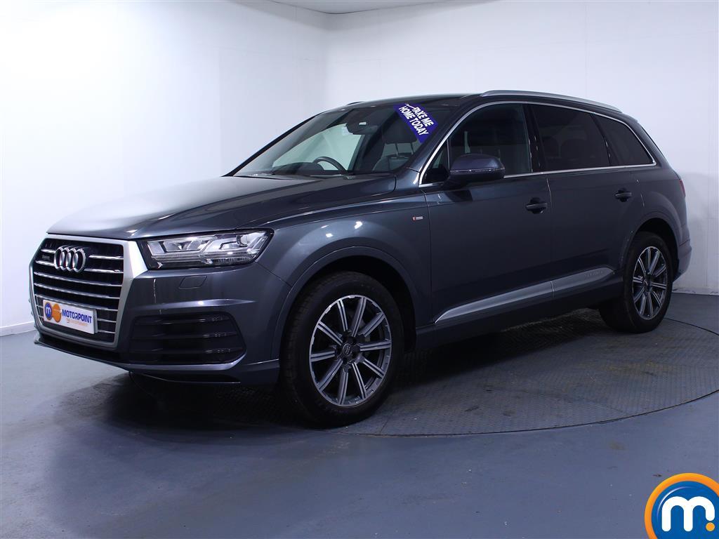 Audi Q7 S Line - Stock Number 1033323 Passenger side front corner