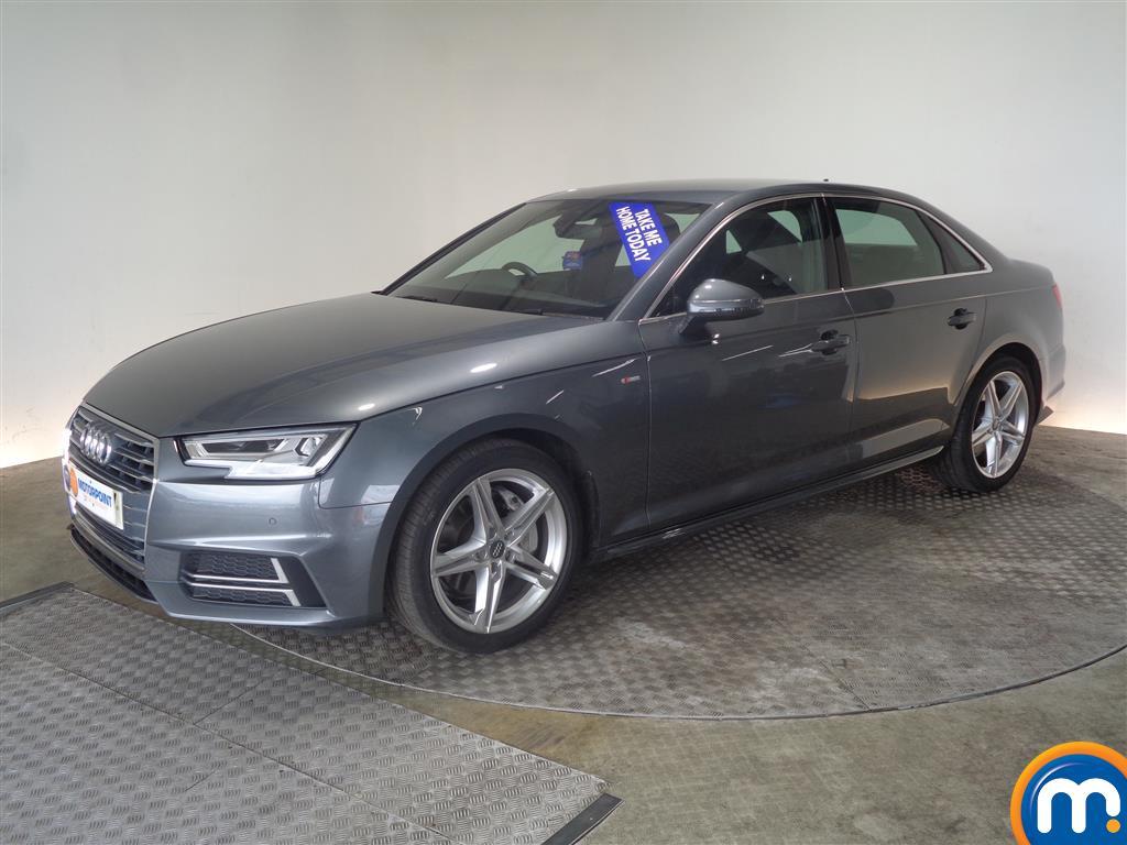 Audi A4 S Line - Stock Number (1026310) - Passenger side front corner