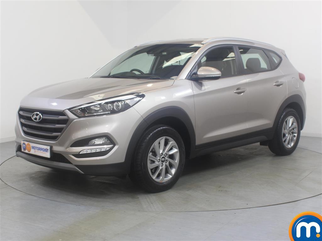 Hyundai Tucson SE - Stock Number (1034903) - Passenger side front corner
