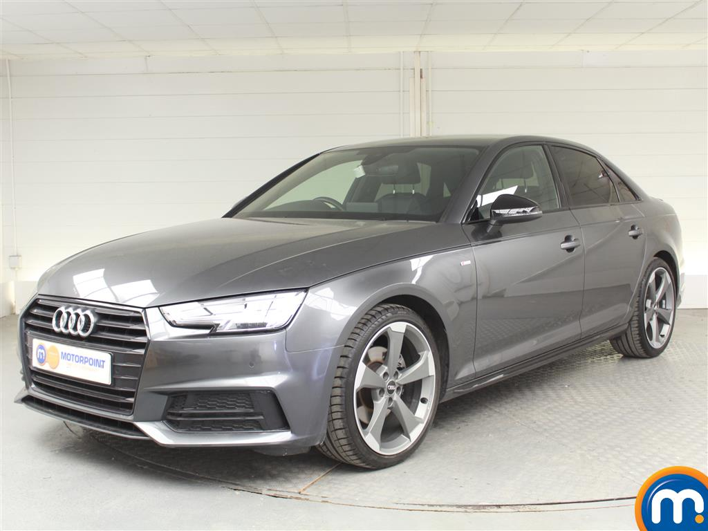 Audi A4 Black Edition - Stock Number 1030313 Passenger side front corner