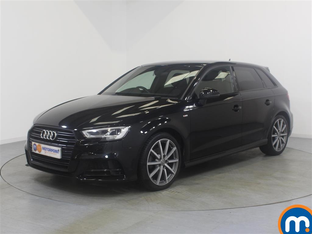 Audi A3 Black Edition - Stock Number (1023859) - Passenger side front corner