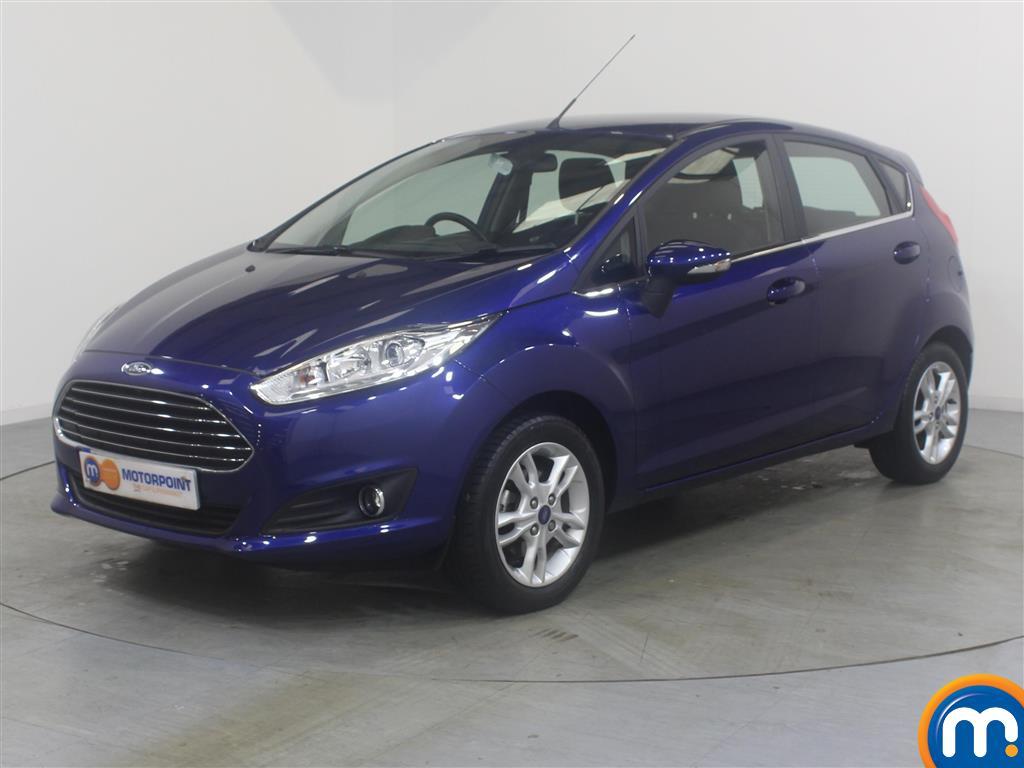 Ford Fiesta Zetec - Stock Number (1033882) - Passenger side front corner