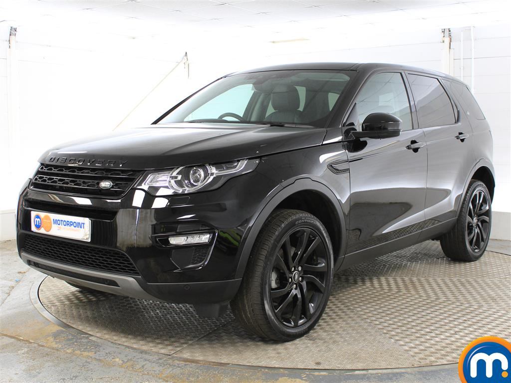 Land Rover Discovery Sport HSE Black - Stock Number (1034137) - Passenger side front corner