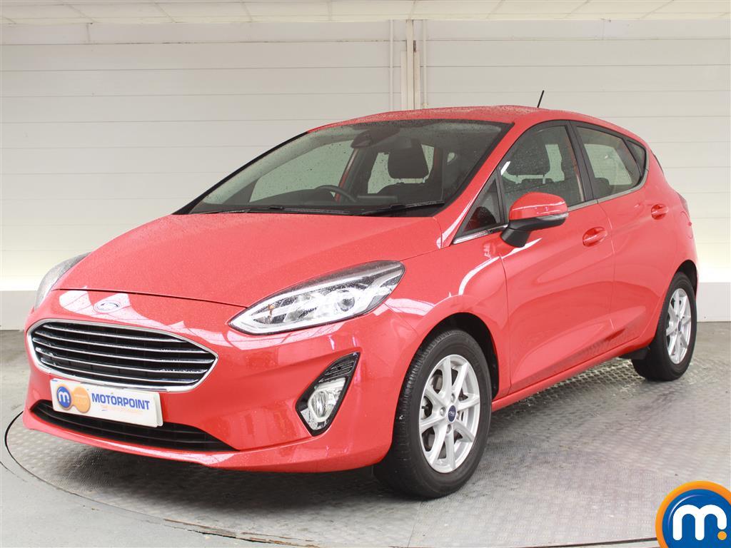 Ford Fiesta Zetec - Stock Number (1032257) - Passenger side front corner