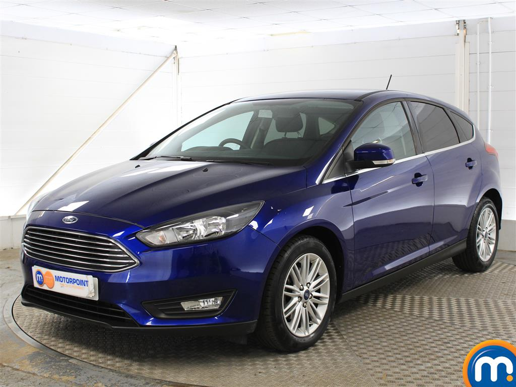 Ford Focus Zetec Edition - Stock Number (1032319) - Passenger side front corner