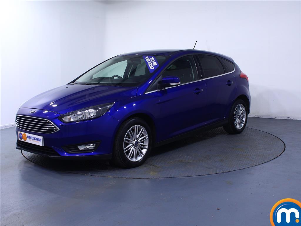Ford Focus Zetec Edition - Stock Number 1031024 Passenger side front corner