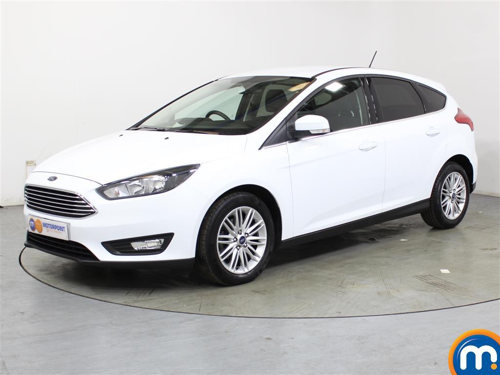 Ford Focus Zetec Edition - Stock Number (1028120) - Passenger side front corner