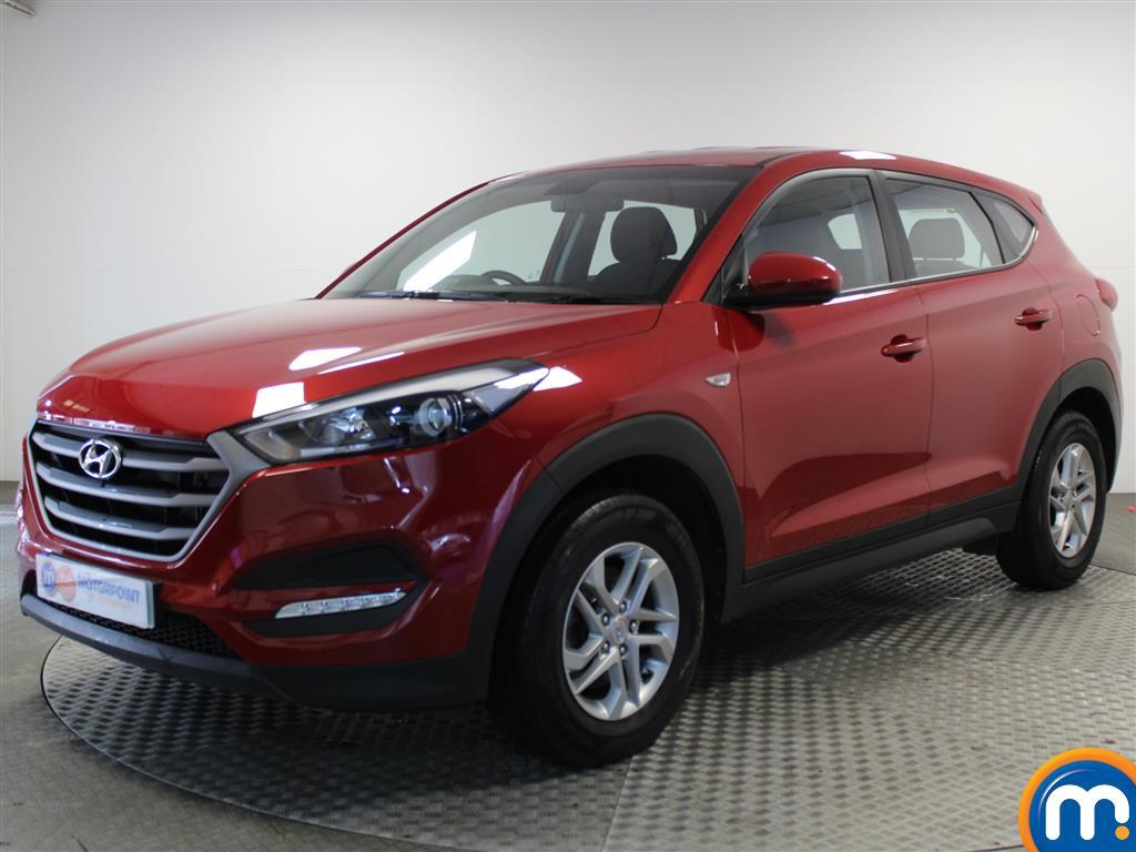 Hyundai Tucson S - Stock Number (1034587) - Passenger side front corner