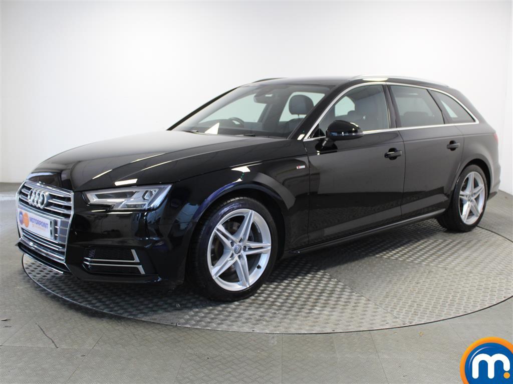 Audi A4 S Line - Stock Number (1030825) - Passenger side front corner