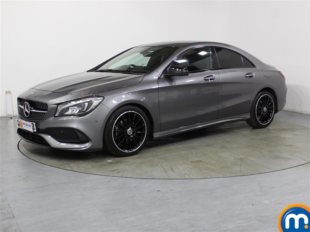 Mercedes-Benz Cla Class AMG Line Night Edition Plus - Stock Number (1009267) - Passenger side front corner