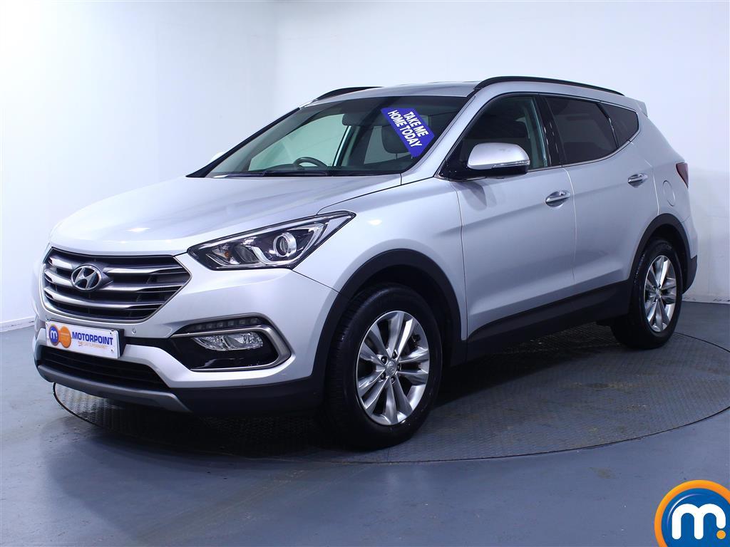 Hyundai Santa Fe Premium - Stock Number (1030259) - Passenger side front corner