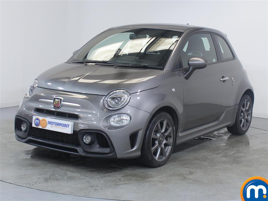 Abarth 595 1.4 T-Jet 145 3dr - Stock Number (1034317) - Passenger side front corner