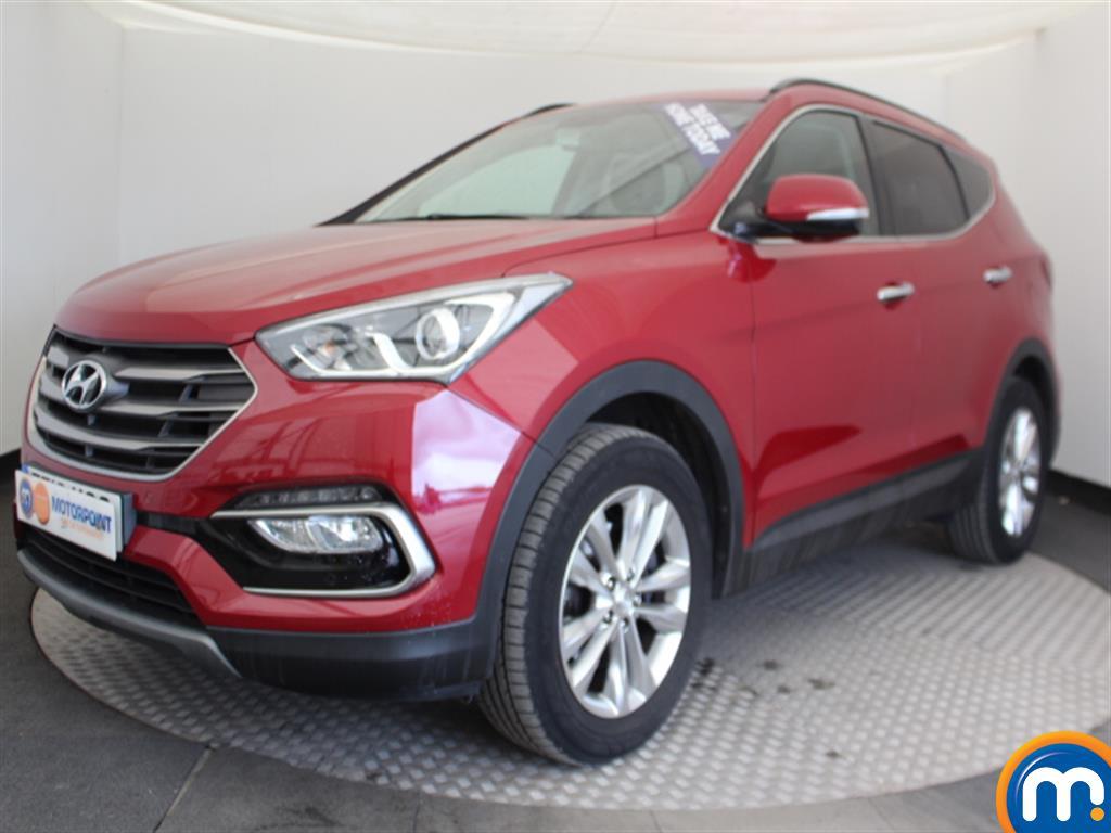 Hyundai Santa Fe Premium - Stock Number (1030261) - Passenger side front corner