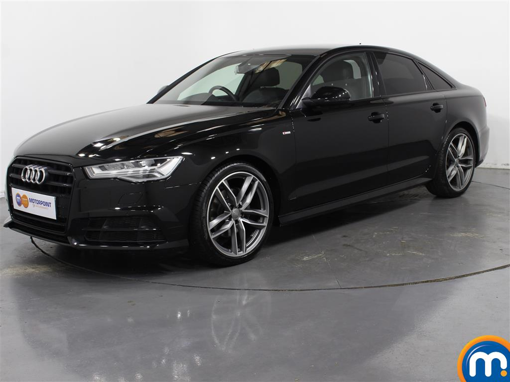 Audi A6 Black Edition - Stock Number (1032864) - Passenger side front corner
