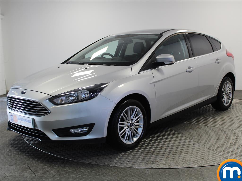 Ford Focus Zetec Edition - Stock Number 1030995 Passenger side front corner