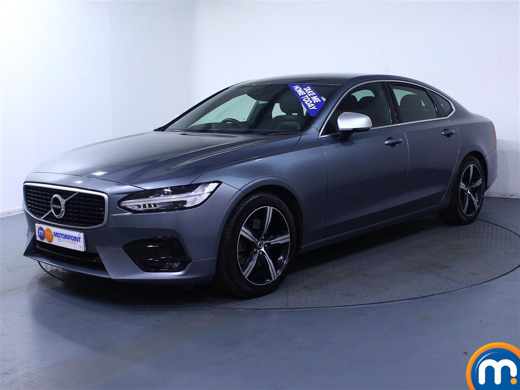 Volvo S90 R DESIGN - Stock Number (1034581) - Passenger side front corner