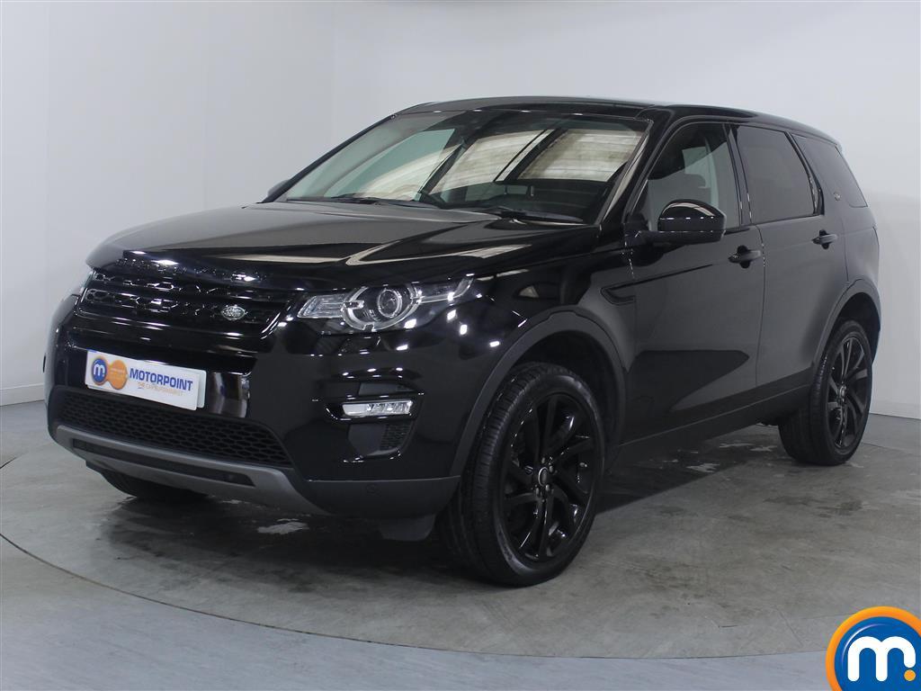 Land Rover Discovery Sport HSE Black - Stock Number (1022769) - Passenger side front corner